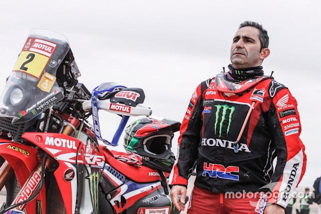 "#2 Monster Energy Honda Team Honda: Paulo Goncalves <span class=""copyright"">Honda Racing</span>"