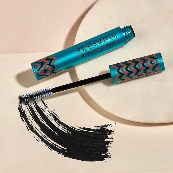 <p>Add argan oil to your lashes while still making them look fabulous with the <span>Josie Maran Argan Black Oil Mascara</span> ($22). </p>