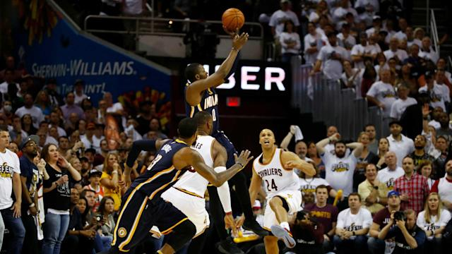 The Pacers were in position to pull a Game 1 upset of the Cavs. But then they couldn't execute the final play.