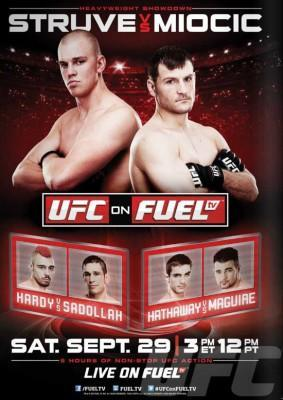 UFC on Fuel TV 5 Draws Strong Attendance and Live Gate in England