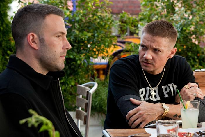 """(L-R) Ben Affleck and Jeremy Renner in """"The Town."""""""