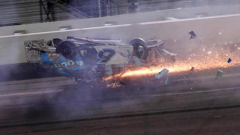 Ryan Newman in serious condition with non-life threatening injuries after Daytona crash