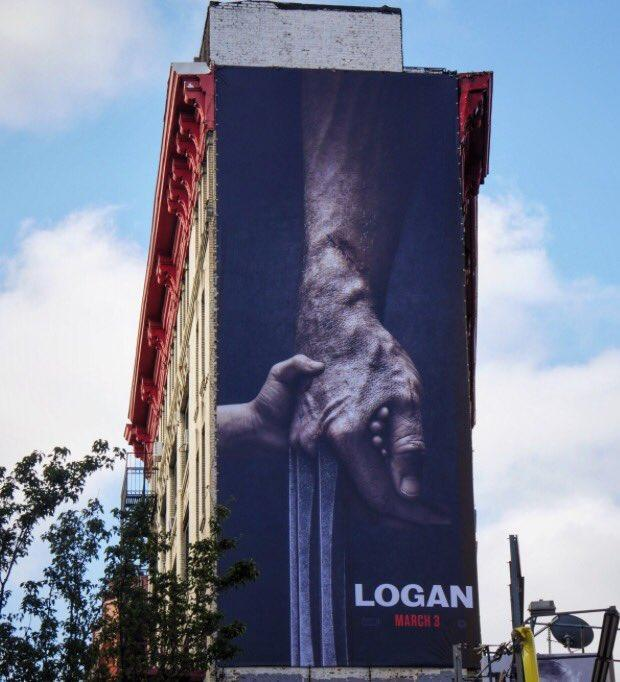 <p>Hugh Jackman tweeted this super-sized version of the film's initial art. (Photo: @RealHughJackman/Twitter) </p>