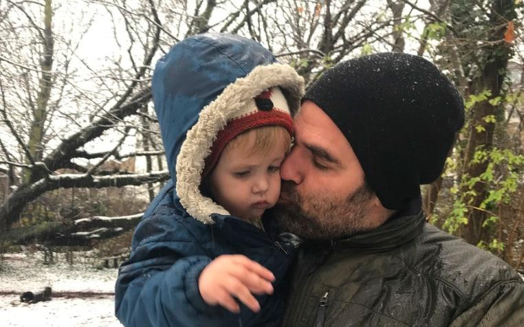 Rob Delaney and his son Henry - Family archive/Medium/  Rob Delaney
