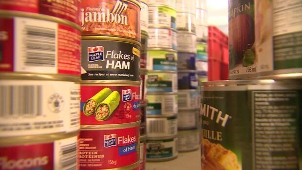 Food banks on P.E.I. have found that demand has risen in the pandemic. (CBC  - image credit)
