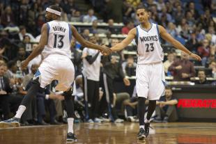 Will Kevin Martin's injury mean more minutes or a trip out of town for Corey Brewer? (Jesse Johnson-USA TODAY Sports)