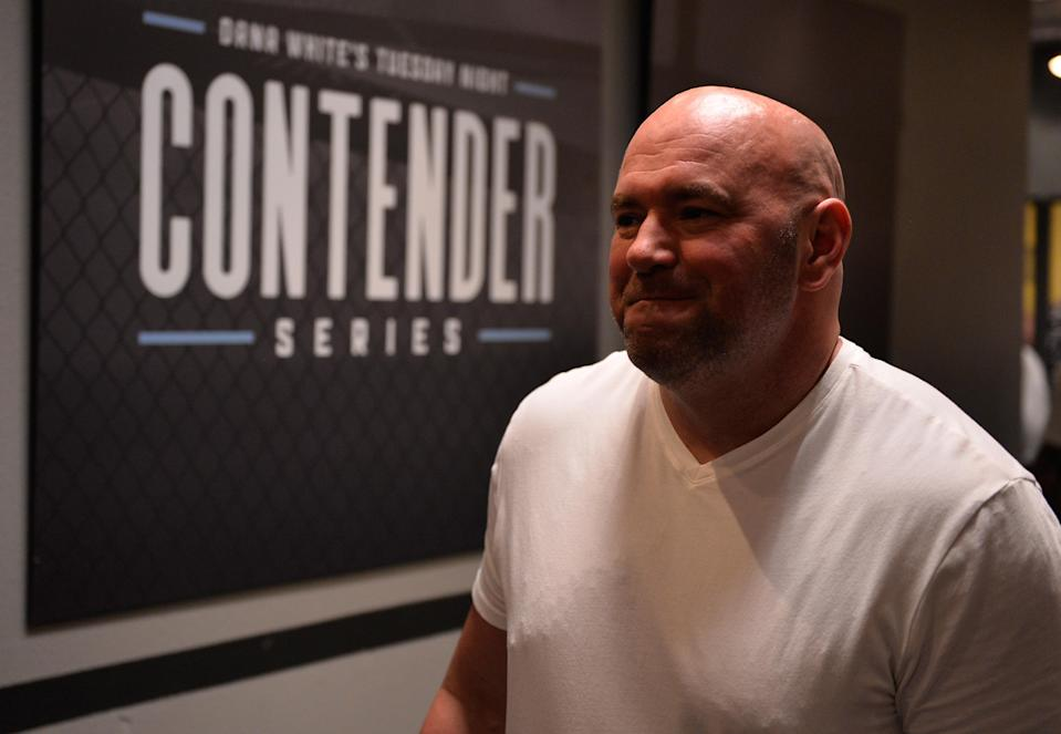 """UFC president Dana White said the company """"absolutely, without a doubt,"""" will do one of its Fight Night cards from the new facility. (Getty)"""
