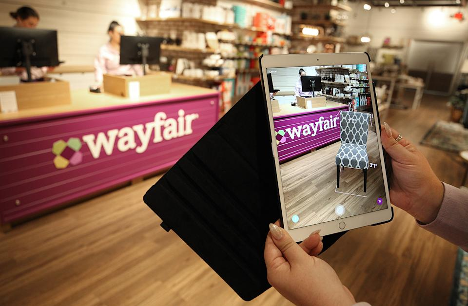 Wayfair, alvo de nova teoria da conspiração. (Foto: Suzanne Kreiter/The Boston Globe via Getty Images)