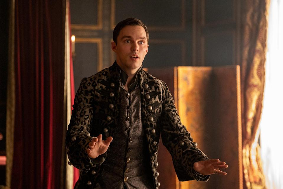 <p>Hoult earned his first nomination in the best television actor in a musical or comedy series category for his portrayal of Peter the Great on the Hulu series, <em>The Great. </em></p>