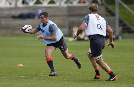 Britain Rugby Union - England Training - Brighton College - 16/5/17 England's George Ford during training Action Images via Reuters / Andrew Boyers Livepic