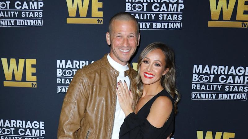 The reality TV star and his wife, Ashley Hebert, shared the news on social media on Sunday.