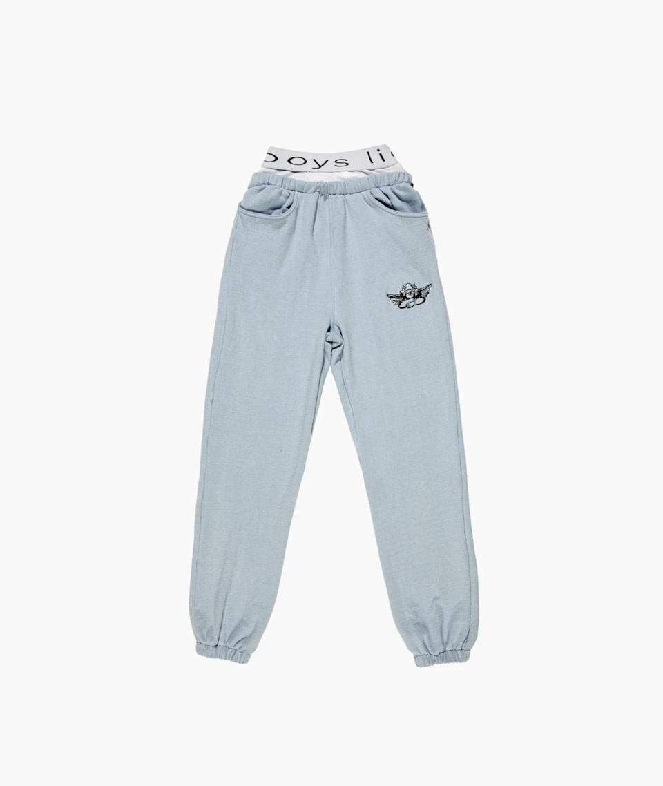 """<p><span>Boys Lie Sweats</span> ($210)</p> <p>""""There's something so cool about these Boys Lie sweats. I love the pale blue color and the baggy silhouette. Plus, they're super soft!"""" - NC</p>"""