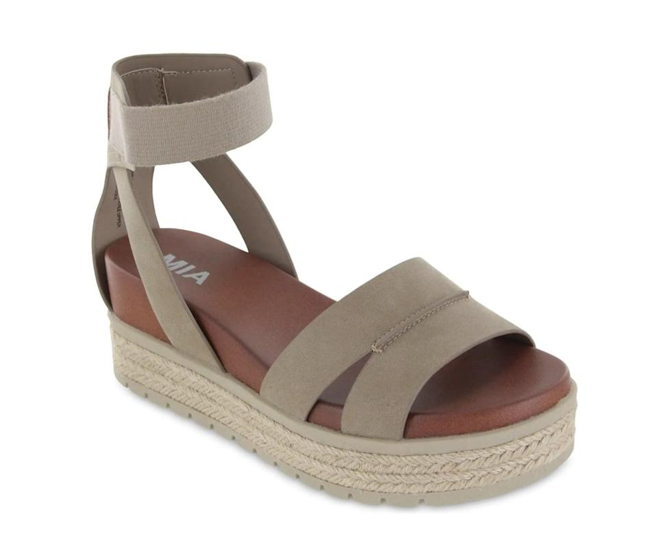 <p>These <span>MIA Kaylyn Platform Sandals</span> ($30, originally $80) are a breezy and comfortable picks for all-day wear.</p>
