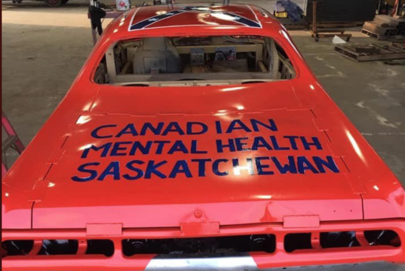 Saskatchewan Premier Scott Moe faced backlash after sharing images of a Dukes of Hazzard-inspired car, featuring the Confederate flag, that is up for auction for charity. (Photo: Twitter)