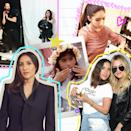 """<p>After six years working in the salon, Atkin got an offer she couldn't refuse: to do the hair for the dancers on <a class=""""link rapid-noclick-resp"""" href=""""https://www.popsugar.com/Madonna"""" rel=""""nofollow noopener"""" target=""""_blank"""" data-ylk=""""slk:Madonna"""">Madonna</a>'s """"Confessions"""" world tour in 2006. """"We were getting VIP service at clubs and seeing celebrities backstage at shows,"""" she said. """"It was my first time traveling the world, and it was an experience that really helped shape who I am.""""</p> <p>Once the tour wrapped, she felt ready to venture out to the floor on her own. """"It was like the bird's out of the nest, and now was the time to build my own clientele.""""</p> <p>Atkin started booking appointments for extensions, which is how she began working with her own roster of celebrities. First, it was <a class=""""link rapid-noclick-resp"""" href=""""https://www.popsugar.com/Nicole-Richie"""" rel=""""nofollow noopener"""" target=""""_blank"""" data-ylk=""""slk:Nicole Richie"""">Nicole Richie</a>, <a class=""""link rapid-noclick-resp"""" href=""""https://www.popsugar.com/Mischa-Barton"""" rel=""""nofollow noopener"""" target=""""_blank"""" data-ylk=""""slk:Mischa Barton"""">Mischa Barton</a>, and <a class=""""link rapid-noclick-resp"""" href=""""https://www.popsugar.com/Lindsay-Lohan"""" rel=""""nofollow noopener"""" target=""""_blank"""" data-ylk=""""slk:Lindsay Lohan"""">Lindsay Lohan</a>. Then she was cutting the hair of <a class=""""link rapid-noclick-resp"""" href=""""https://www.popsugar.com/Hayden-Panettiere"""" rel=""""nofollow noopener"""" target=""""_blank"""" data-ylk=""""slk:Hayden Panettiere"""">Hayden Panettiere</a>, <a class=""""link rapid-noclick-resp"""" href=""""https://www.popsugar.com/Amanda-Bynes"""" rel=""""nofollow noopener"""" target=""""_blank"""" data-ylk=""""slk:Amanda Bynes"""">Amanda Bynes</a>, and Sofia Vergara, right as she catapulted to <strong>Modern Family</strong> fame. </p> <p>In the span of the 15 years that followed came the domino effect of little big moments that led to even bigger moments. It was working backstage at Paris Fashion Week. Doing editorial photo shoots. Traveling"""