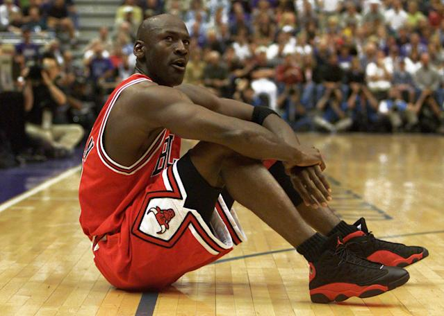 """Prices of Michael Jordan rookie cards are going up after ESPN's """"The Last Dance."""" (BPS/VM/SB)"""