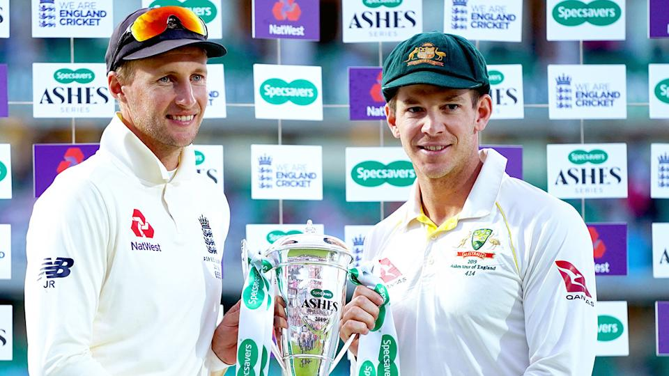 England's cricket board will decide this week whether the Ashes series goes ahead this year. Pic: Getty