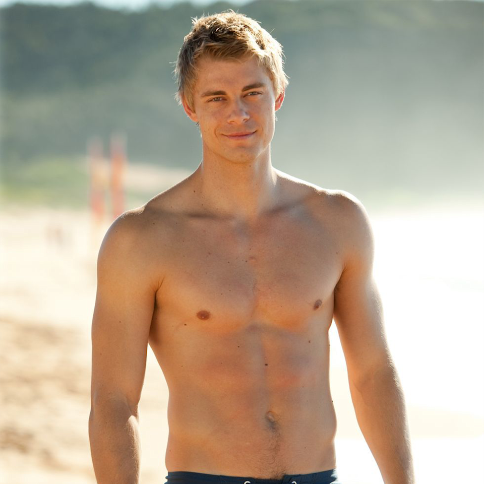 Luke Mitchell on Home And Away.