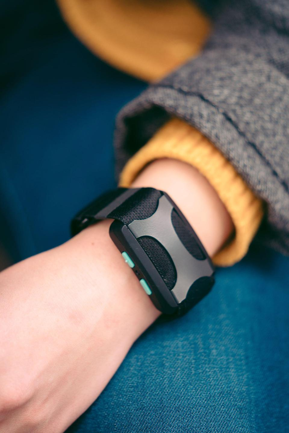 """<p>""""Are your wrists as piled up with fitness watches as mine are? Well, make some room. <span>Apollo Neuro</span> ($349) straps around your wrist like an Apple Watch or Fitbit, but it's not there to count your steps or measure your heart rate. It's a """"wearable wellness device for stress relief,"""" according to the brand's website, aka it's here to help with your mental health, not your calorie burn.</p> <p>To sum it up, Apollo vibrates against your wrist or ankle (areas that are """"highly sensitive"""" due to the number of nerve endings there, Apollo said) to soothe or stimulate your nervous system, which can help you relax or give you energy when you need it. It all runs through a Bluetooth app on your phone, so you choose whatever setting you need at that moment.</p> <p>I wear my Apollo all day and night (except when it needs a charge - usually once every other day, if I use it frequently) and pull up the app whenever I need some kind of mental boost. I use the Focus mode when I need to dial in at work, the Rebuild mode after a workout, the Social mode during meetings or Zooms with my friends, and the Energy mode when I'm feeling groggy in the morning. I love the relax mode for decompressing after work. The sleep mode, though, is the one I use the most. I never forget to turn it on. I haven't struggled to fall asleep once since I started using it - it just feels like a soothing hum against my ankle that helps me drift right off. (I wear the Apollo on my ankle for the Sleep mode, as the brand recommends, and on my wrist the rest of the time.) After two months of using Apollo Neuro, I can tell you I'm a big fan."""" - Maggie Ryan, assistant editor, fitness</p> <p>Read the full <a href=""""https://www.popsugar.com/fitness/apollo-neuro-review-48188072"""" class=""""link rapid-noclick-resp"""" rel=""""nofollow noopener"""" target=""""_blank"""" data-ylk=""""slk:Apollo Neuro review"""">Apollo Neuro review</a>.</p>"""