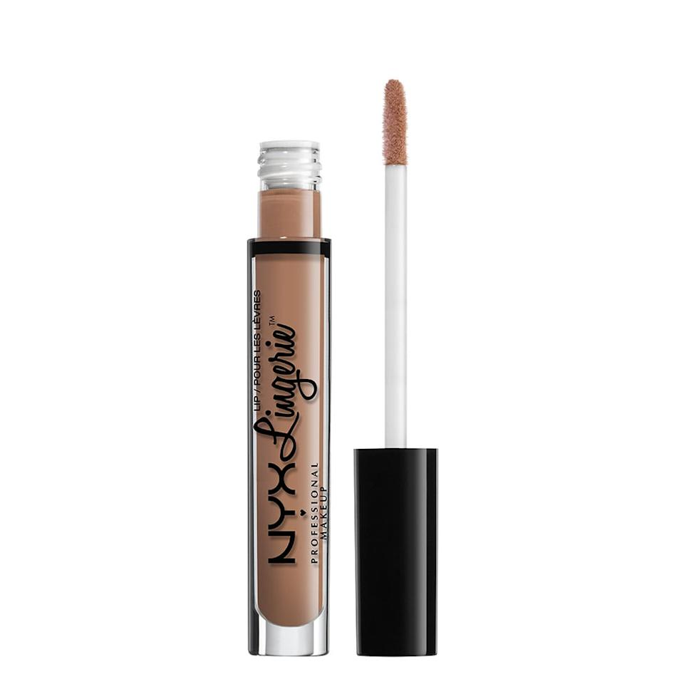 """<p>If there's one word that describes you, it's """"simple,"""" and nothing is more simple than a nude like <product href=""""https://www.nyxcosmetics.com/lip/lipstick/lip-lingerie/NYX_315.html?dwvar_NYX__315_color=Corset"""" target=""""_blank"""" class=""""ga-track"""" data-ga-category=""""internal click"""" data-ga-label=""""https://www.nyxcosmetics.com/lip/lipstick/lip-lingerie/NYX_315.html?dwvar_NYX__315_color=Corset"""" data-ga-action=""""body text link"""">NYX Professional Makeup Lip Lingerie in Corset</product> ($7). You don't always like to be over the top when you do things, so of course you'd apply that same logic to your lipstick choices.</p>"""
