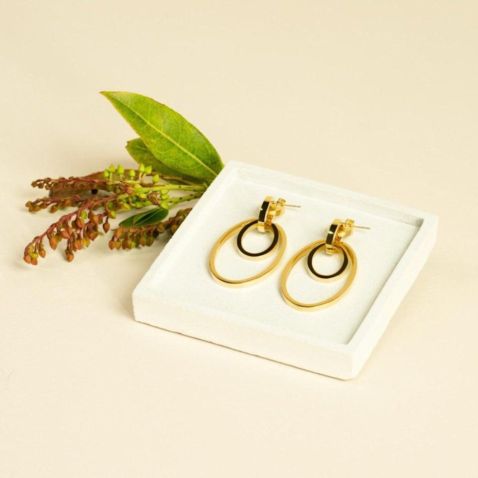 <p>The coolest thing about the <span>Vita Fede Cassio Earrings</span> ($388) is that they are customizable! Each of the rings can be removed to create a whole new piece. Whether you want short, layered hoops, like pictured, or longer, chain-like drops, these earrings are a staple.</p>