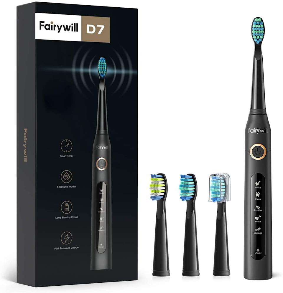 Fairywill Electric Toothbrush - Amazon, $30 (originally $36)