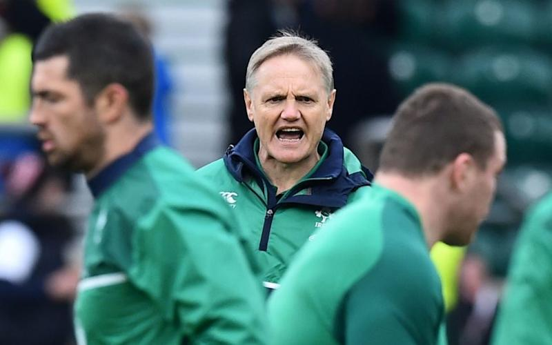 Joe Schmidt - Credit: AFP