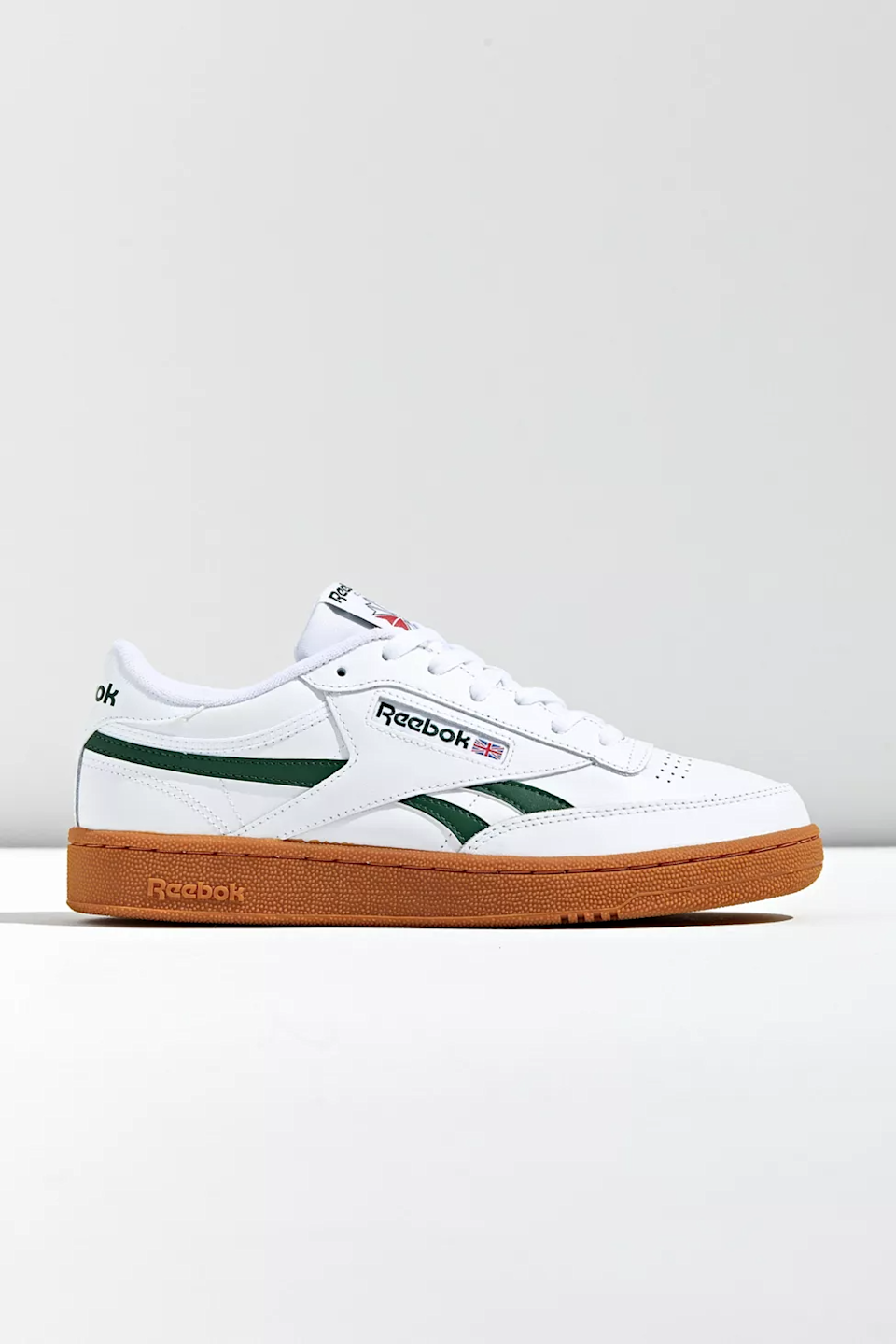 """<br><br><strong>Reebok</strong> Club C Revenge Sneaker, $, available at <a href=""""https://go.skimresources.com/?id=30283X879131&url=https%3A%2F%2Fwww.urbanoutfitters.com%2Fshop%2Freebok-club-c-revenge-sneaker6%3Fcolor%3D010%26type%3DREGULAR%26quantity%3D1"""" rel=""""nofollow noopener"""" target=""""_blank"""" data-ylk=""""slk:Urban Outfitters"""" class=""""link rapid-noclick-resp"""">Urban Outfitters</a>"""