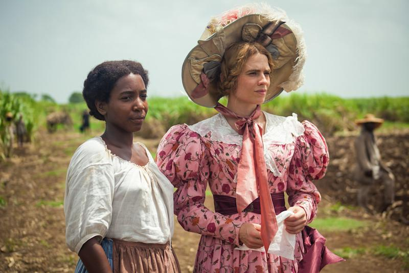 <p>The actress stars in an upcoming BBC adaptation of an Andrea Levy novel set on a slave plantation.</p>