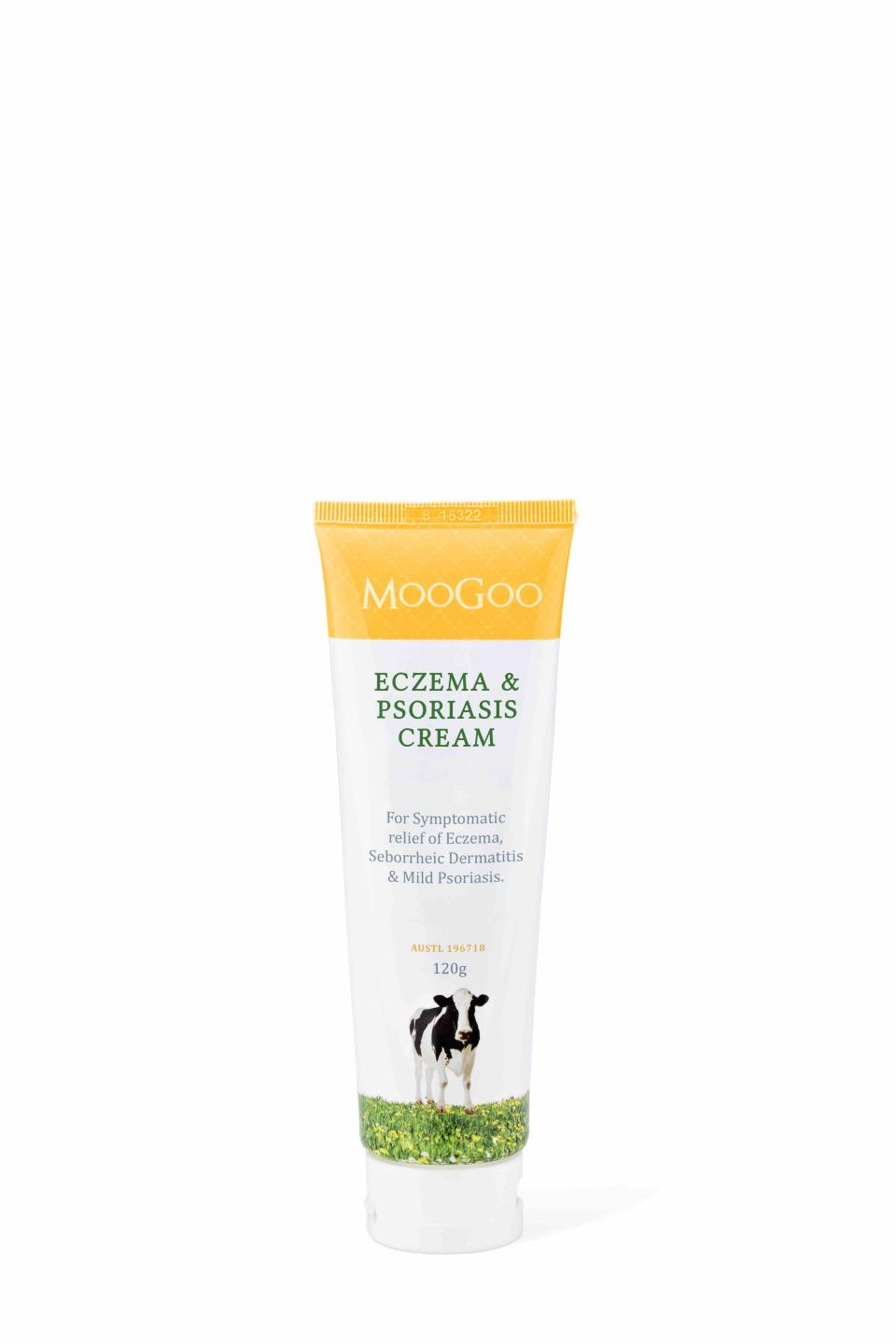 MooGoo Eczema & Psoriasis Cream. Photo: Supplied