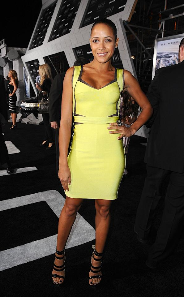 """<a href=""""http://movies.yahoo.com/movie/contributor/1808482606"""">Dania Ramirez</a> at the Los Angeles premiere of <a href=""""http://movies.yahoo.com/movie/1810045661/info"""">2012</a> - 11/03/2009"""