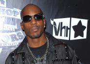 "FILE - In this Sept. 23, 2009, file photo, DMX arrives at the 2009 VH1 Hip Hop Honors at the Brooklyn Academy of Music, in New York. The family of rapper DMX says he has died at age 50 after a career in which he delivered iconic hip-hop songs such as ""Ruff Ryders' Anthem."" A statement from the family says the Grammy-nominated rapper died at a hospital in White Plains, New York, ""with his family by his side after being placed on life support for the past few days. He was rushed to a New York hospital from his home April 2. (AP Photo/Peter Kramer, File)"