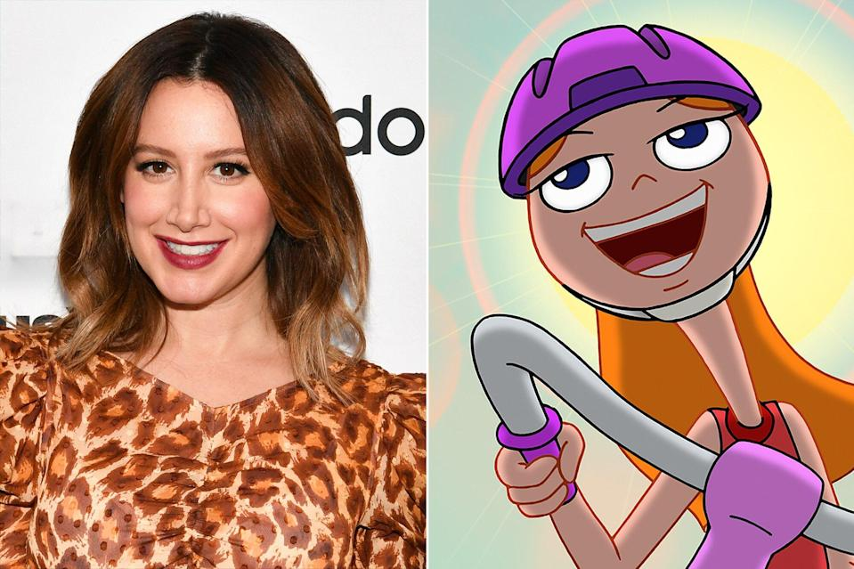 Ashley Tisdale on returning to Phineas and Ferb for Candace Against the Universe