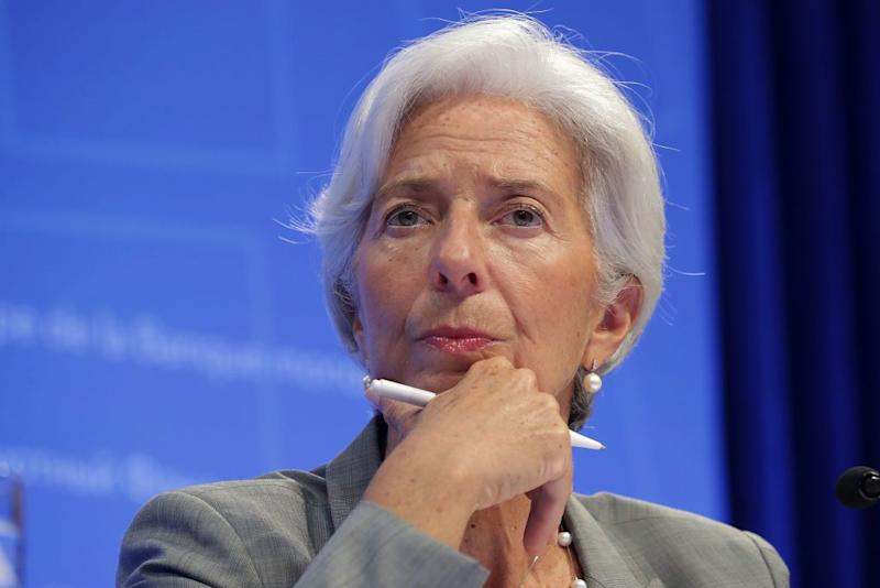 International Monetary Fund chief says volatile markets represent 'necessary corrections'