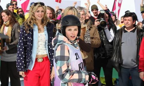 <p>At first, Kim's baffled by this bizarre new world of posh people, champagne and skiing - but then she discovers snowboarding, and the chance to win some much-needed prize money at the big end-of-season competition.</p>