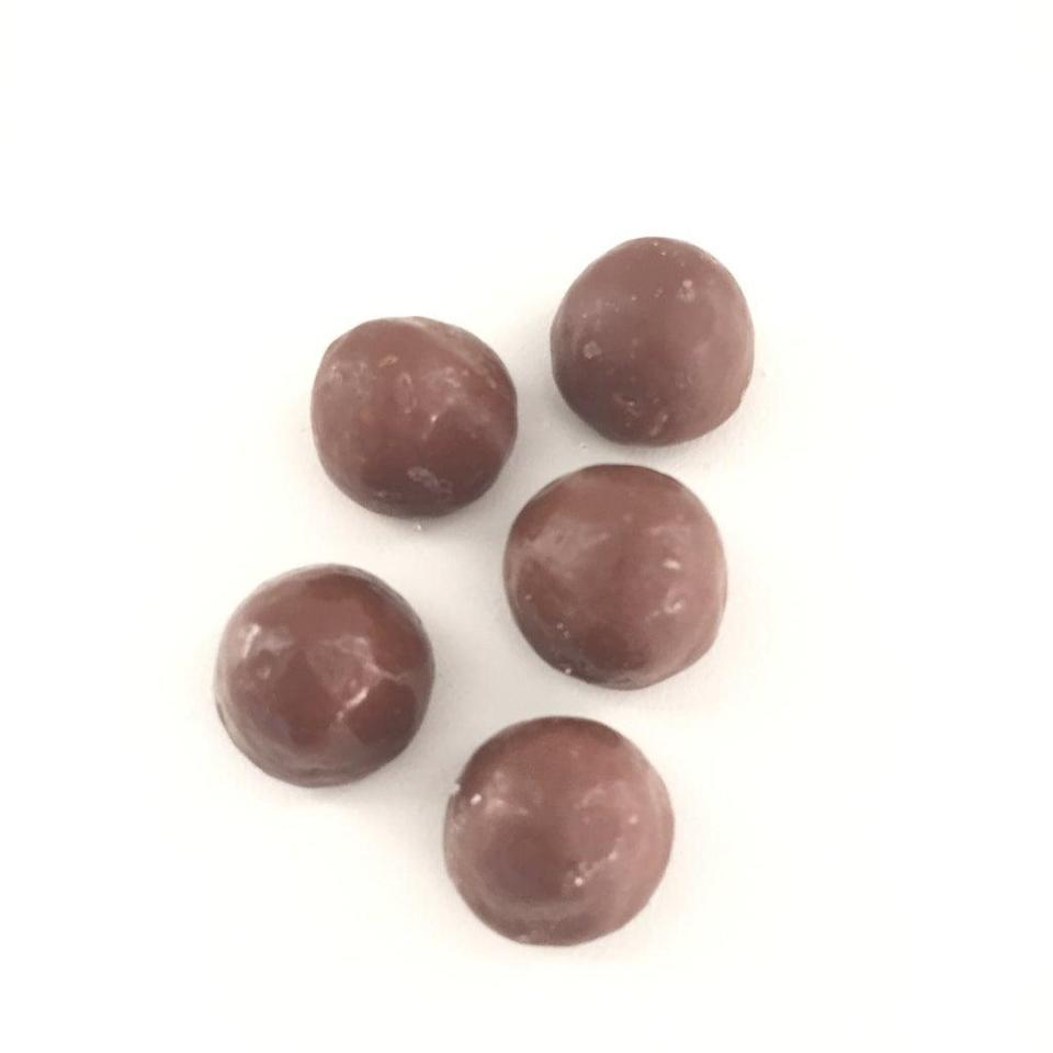"""<p>""""Bleh - tastes like chalk.""""<br> """"What is this supposed to be? Like berry-flavored chocolate?""""<br> """"Weird.""""<br> """"This is disgusting.""""<br> """"No.""""</p> <p> </p> <div class=""""review-rating""""> <br> </div>"""