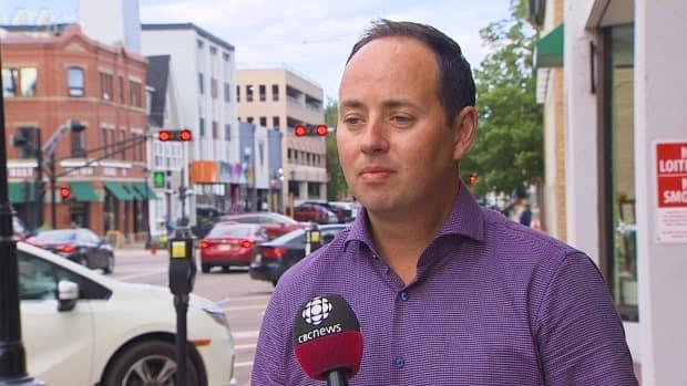 Robert Godfrey, CEO of the Greater Charlottetown Area Chamber of Commerce, says many members support the vax pass system. (Kerry Campbell/CBC - image credit)