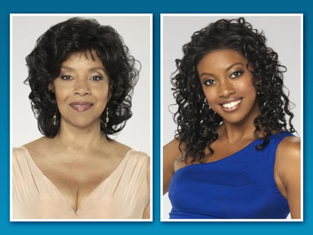 "Condola Rashad <br><br> Famous Family: Phylicia Rashad, mother<br><br>Breaking Out on TV: One of our all-time favorite TV moms now has a grown-up daughter ready to join her on the small screen. 25-year-old Condola Rashad will star alongside her real-life mother, ""The Cosby Show's"" Phylicia Rashad, in Lifetime's new version of ""Steel Magnolias,"" debuting October 7. But Condola and Phylicia won't play mom and daughter: Condola plays Shelby (the Julia Roberts role in the 1989 film), while Phylicia plays good-natured widow Clairee (the Olympia Dukakis role). A Tony nominee earlier this year for her work in the Broadway play ""Stick Fly,"" Condola has also guest starred on ""Smash,"" ""The Good Wife,"" and ""Law & Order: Criminal Intent."""
