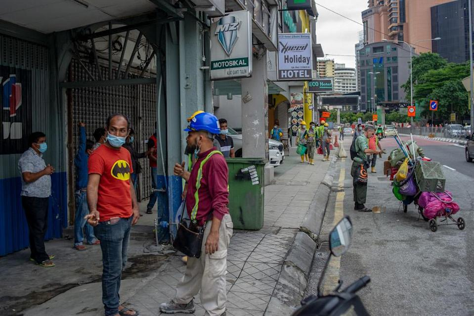 Subramaniam says a major concern is the cramped living conditions of most of the country's foreign workers that put them at risk of Covid-19. — Picture by Shafwan Zaidon