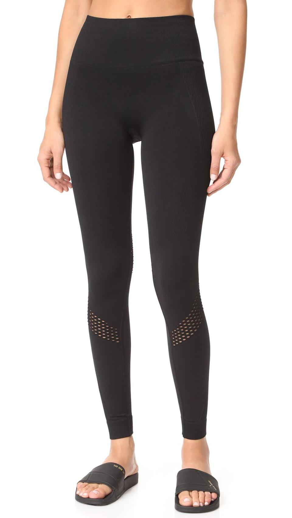 <p>High-waisted and so comfortable, these <span>Alala Seamless Leggings</span> ($95) are exactly what you're going to want to wear.</p>