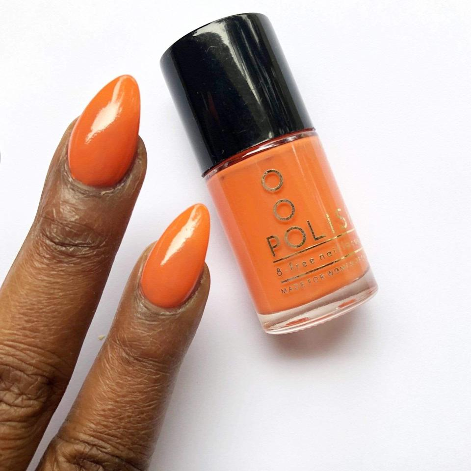 """<p><strong>OOO Polish</strong></p><p>ooopolish.com</p><p><strong>$10.00</strong></p><p><a href=""""https://www.ooopolish.com/collections/reds/products/copy-of-pouitenga"""" rel=""""nofollow noopener"""" target=""""_blank"""" data-ylk=""""slk:Shop Now"""" class=""""link rapid-noclick-resp"""">Shop Now</a></p>"""