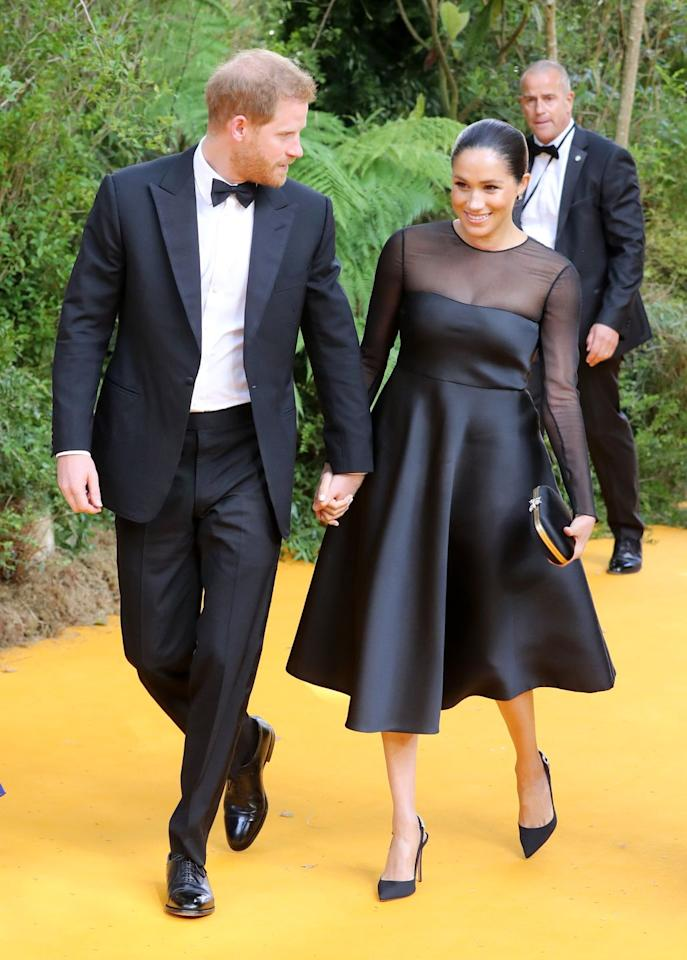 <p>The couple looked very much in love as they hit the red carpet. </p>