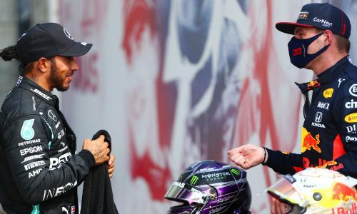 Lewis Hamilton welcomes prospect of battle with Red Bull's Max Verstappen