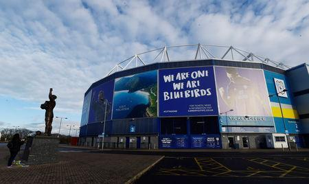 Soccer Football - Cardiff City Press Conference - Cardiff City Stadium, Cardiff, Britain - January 22, 2019 General view outside the stadium REUTERS/Rebecca Naden