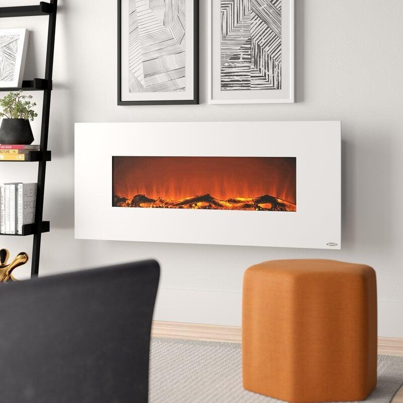 <p>This <span>Lauderhill Wall Mounted Electric Fireplace</span> ($230, originally $299) will go with so many different decor styles.</p>