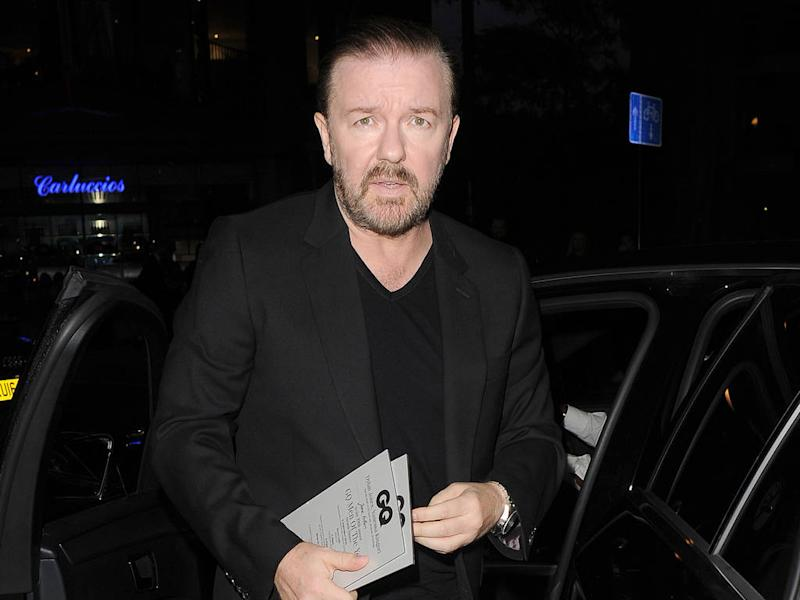 Ricky Gervais' scathing Golden Globes speech receives mixed response