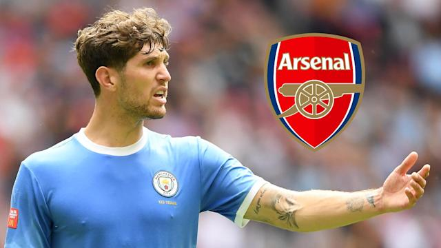 The Gunners boss worked with the 25-year-old during his time as Pep Guardiola's assistant but insists his new club are not interested in a move
