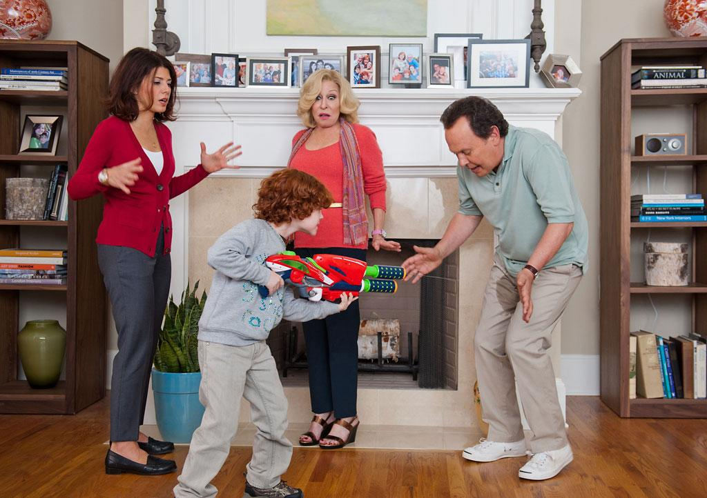 "Billy Crystal, Bette Midler, Marisa Tomei and Kyle Harrison Breitkopf in Twentieth Century Fox' ""Parental Guidance"" - 2012"