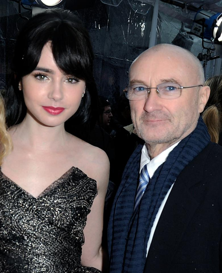 "Actress Lily Collins now has a following of her own after starring in ""The Blind Side,"" ""Abduction,"" and ""Mirror Mirror."" Her father is musician Phil Collins."