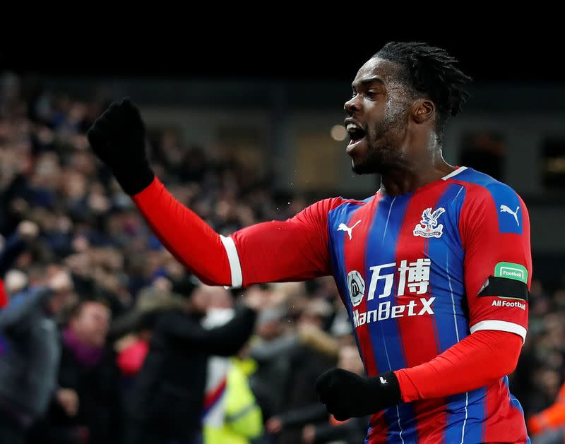 Schlupp among Palace quartet to sign new deals